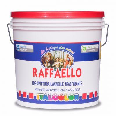Colore Traspirante Per Interni.Raffaello Coperchio Rosso Pittura Murale Lavabile Traspirante Per